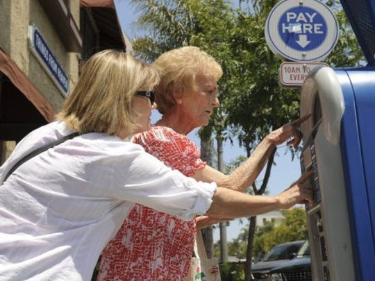 The city of Ventura is looking to buy new parking stations to replace the old ones.