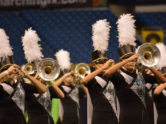 Jupiter brass sounds in a past competition