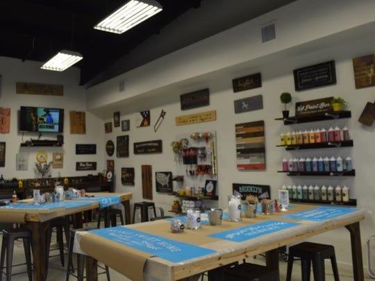 Board & Brush studio