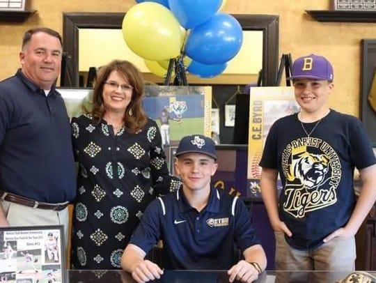 Byrd's Chris Robinson will play baseball collegiately