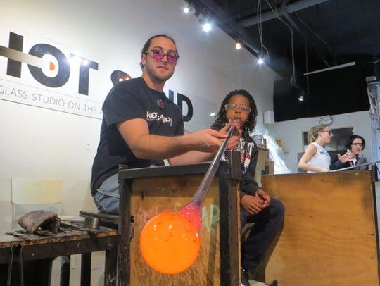 Asbury Park's glassblowing studio, Hot Sand, will provide