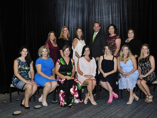 Several members of the FPRA Treasure Coast Chapter