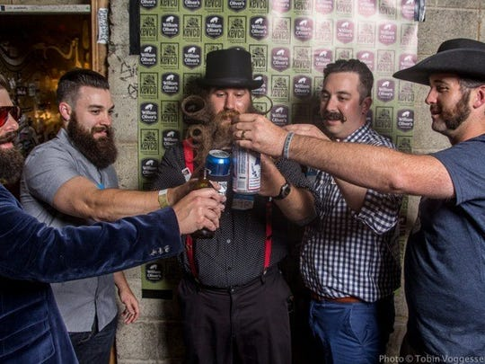 Scenes from the Rocky Mountain Beard and Moustache Club's inaugural Beard and Moustache Competition on Saturday, June 7, 2014 at Hodi's Half Note in Fort Collins.