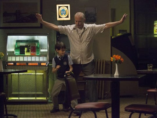 "Bill Murray and Jaeden Lieberher in a scene from ""St. Vincent."""