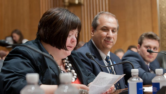 Advocate Sara Wolff testified before a Senate panel in July in support of the ABLE Act.
