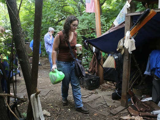 Homeless camp's closure may offer model for other cities