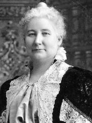 Suffragist May Wright Sewall (1844-1920) founded the