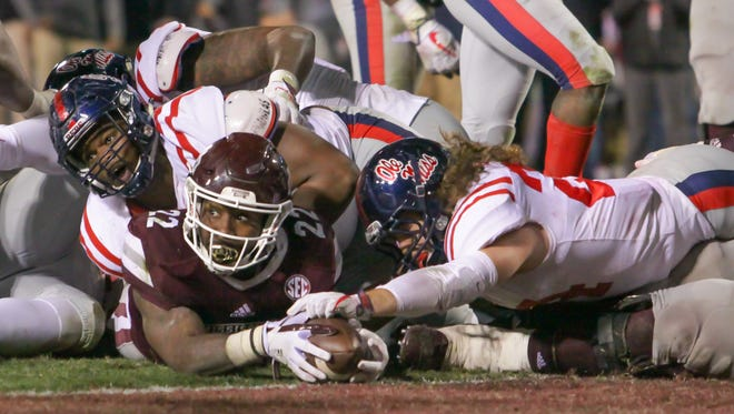 Aeris Williams (22) and Mississippi State's over/under win total was set at eight for the upcoming season.