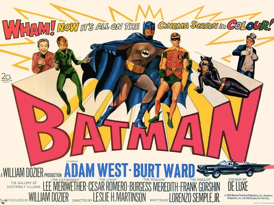 """Holy Summer Drive-In! The 1966 """"Batman"""" movie screens Saturday."""