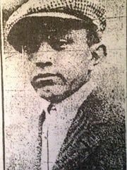 Raymond Faatz in 1912.