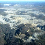 Surface mining in Central Appalachia.