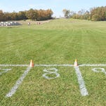 The Brighton girls cross country team prevailed in its final head-to-head KLAA matchup with rival Milford.