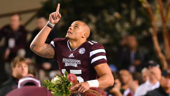 Fomer Mississippi State Bulldogs quarterback Dak Prescott was selected in the NFL Draft on Saturday.