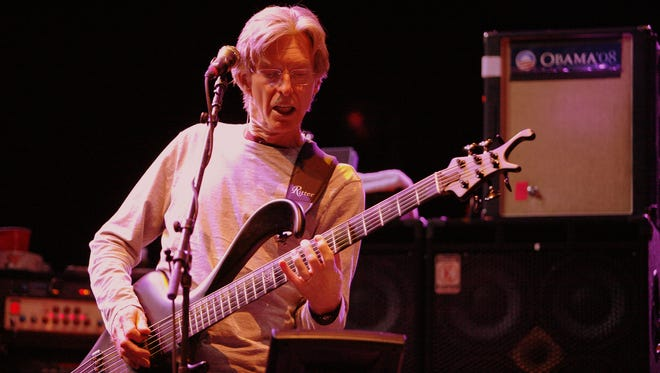 Phil Lesh of performs at the Izod Center on April 28, 2009 in East Rutherford, New Jersey.