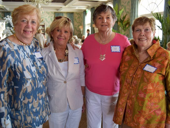 Ginny Powers, Lori Maddox, Joan Kearney and Sara Stoll