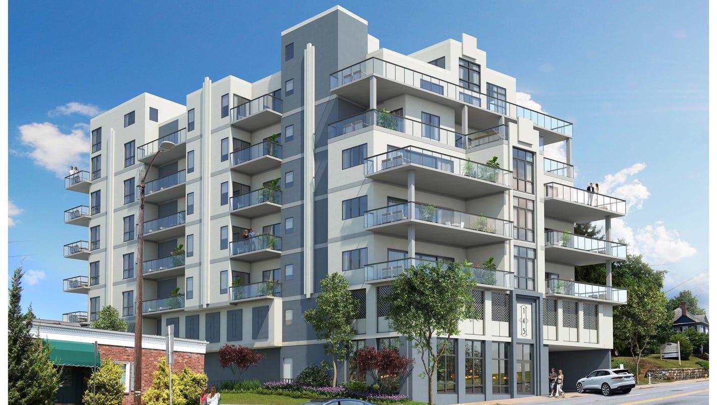 145 biltmore avenue plan features 27 condos u0027transterior u0027 design