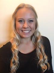 New Salem varsity volleyball coach Rebecca Middleton