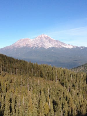 Mt. Shasta is one of eight hazardous volcanic areas up and down the state. California's most iconic volcano, snow-capped Mt. Shasta, towers over the landscape in far Northern California.