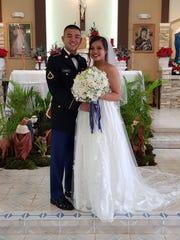 Joey Kumiyama Borja II and Je'andralyn Chargualaf Duenas were married on Dec. 29, 2017 at San Miguel Catholic Church, Talafofo. Reception was held at Gef Pago Inarajan.
