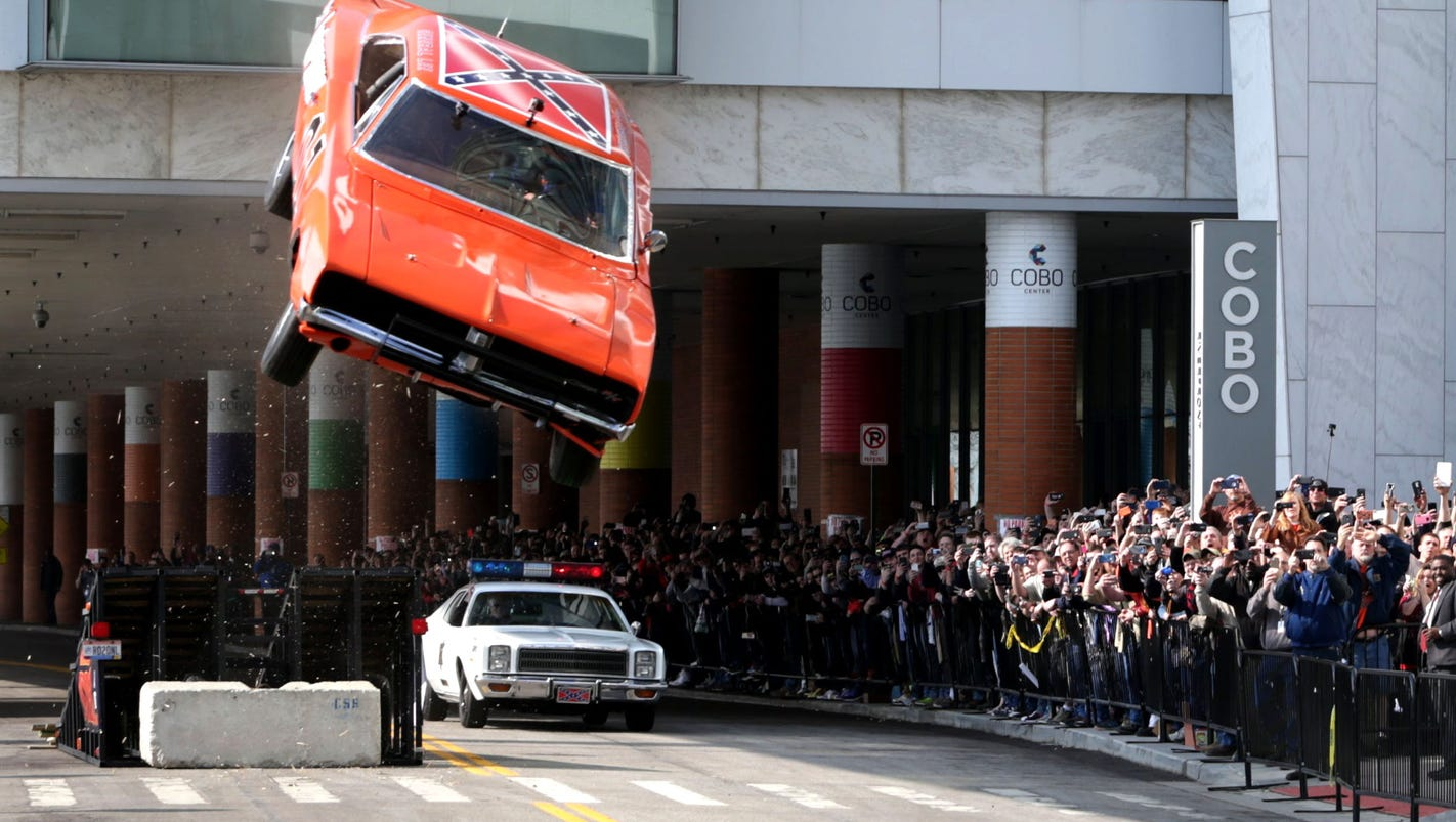 Dukes Of Hazzard Car Jumps Ramp Crash Lands