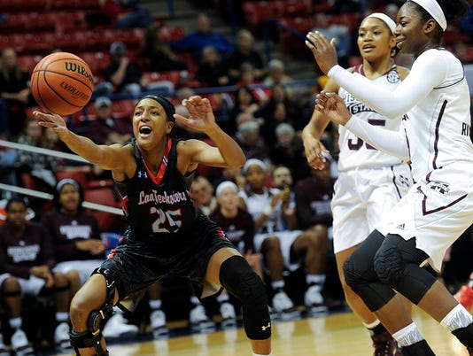 Lady Techster Basketball vs Miss State
