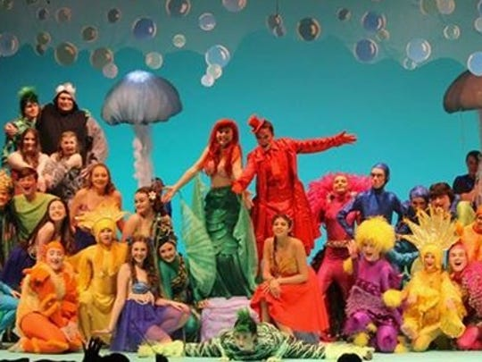 "Westlake High School staged ""The Little Mermaid"" last year, one of three local high schools to stage the Disney musical. This year, ""The Little Mermaid"" takes to the stage at Carmel and Fox Lane."