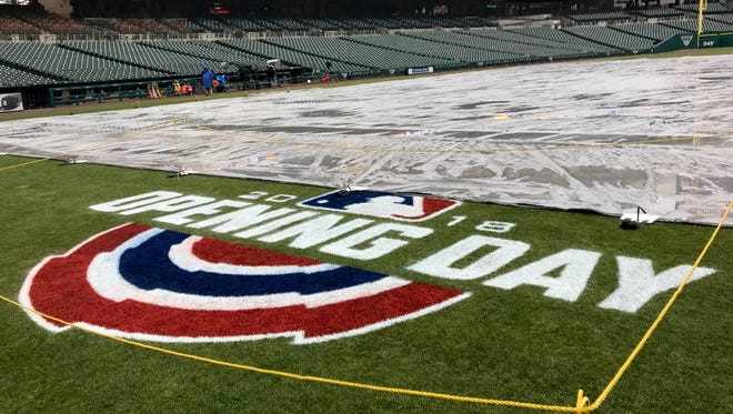 Opening Day at Comerica Park, where the Detroit Tigers were to play the Pittsburgh Pirates on Thursday March 29, 2018, has been postponed until Friday, March 30.