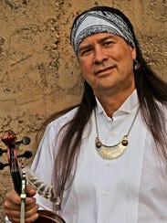 Arvel Bird, a Native American flutist and violinist,