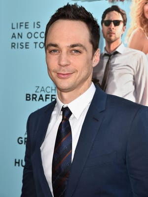 """Jim Parsons attends Focus Features' """"Wish I Was Here"""" premiere at DGA Theater on June 23, 2014 in Los Angeles, California."""