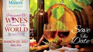 Aging Matters will hold its annual Passport to Wines Around the World on March 25.