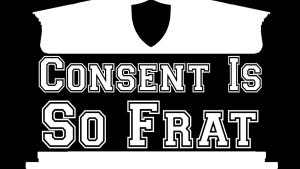 The Consent is So Frat logo.