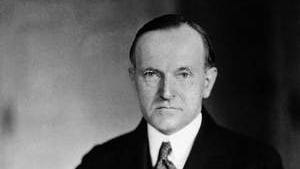 Calvin Coolidge, the 30th president of the United States form 1923 to 1929, poses in an undated photo.