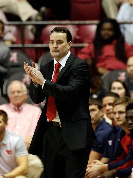 NCAA Basketball: Dayton at Alabama