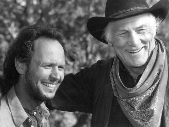 "Billy Crystal had one of his best roles in ""City Slickers"" (1991), starring with Jack Palance."