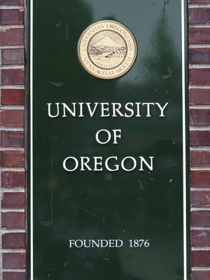 The University of Oregon in Eugene.