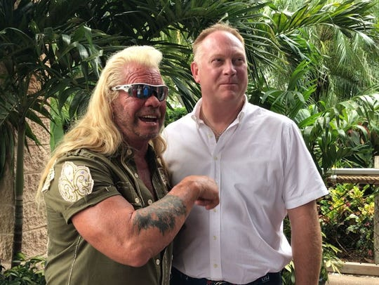 Matt Maddock, a Republican candidate for the state House in District 44, was endorsed by Duane Chapman, aka Dog the Bounty Hunter.