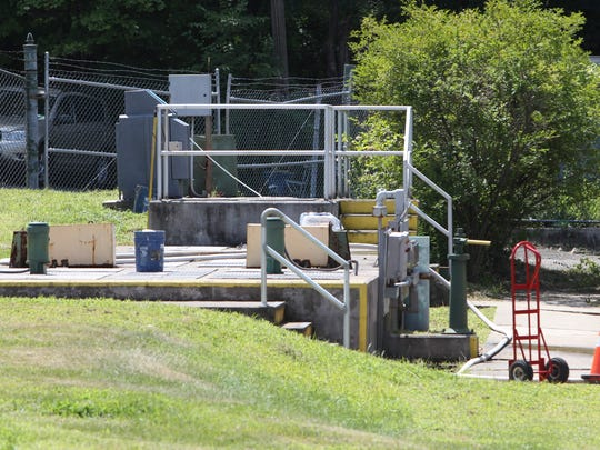 The Village of Suffern's water treatment plant Aug.