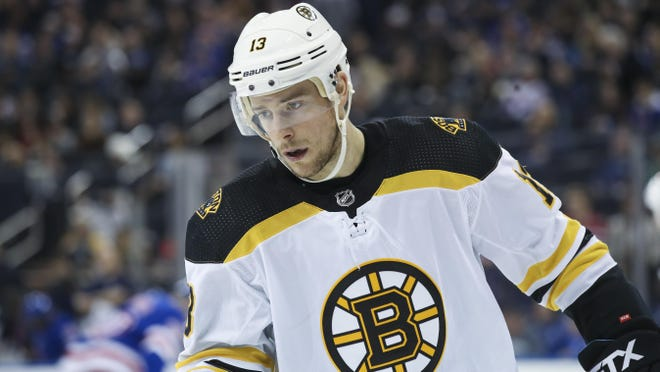 Bruins center Charlie Coyle knows he and the other younger guys need to step up to better complement the core players on the team.