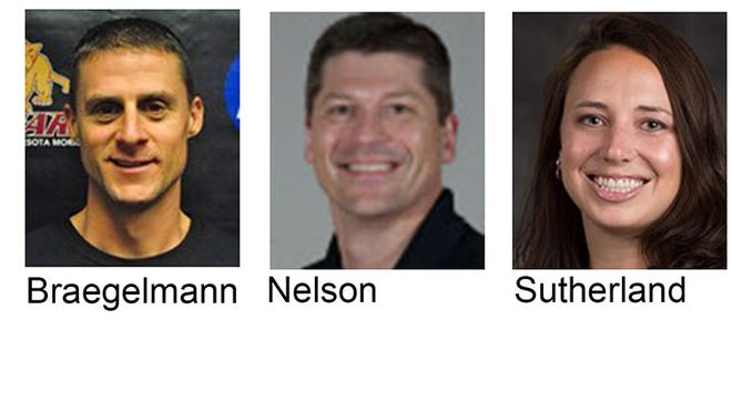 Candidates for St. Cloud State University volleyball coach.