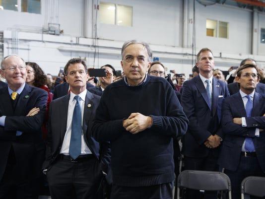 Donald Trump,Sergio Marchionne