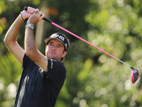 Bubba Watson has won twice on the PGA Tour so far this year.