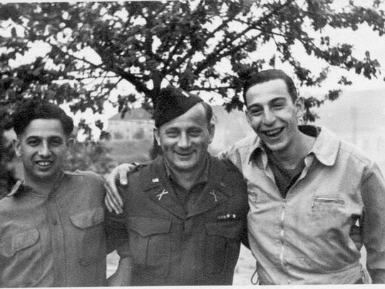 Ritchie Boys Guy Stern, Walter Sears, and Fred Howard