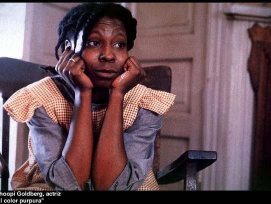 "Whoopi Goldberg in the 1985 film version of ""The Color"