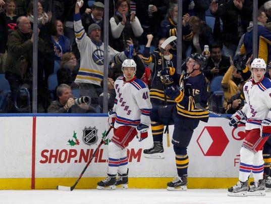 USP NHL: NEW YORK RANGERS AT BUFFALO SABRES S HKN USA NY