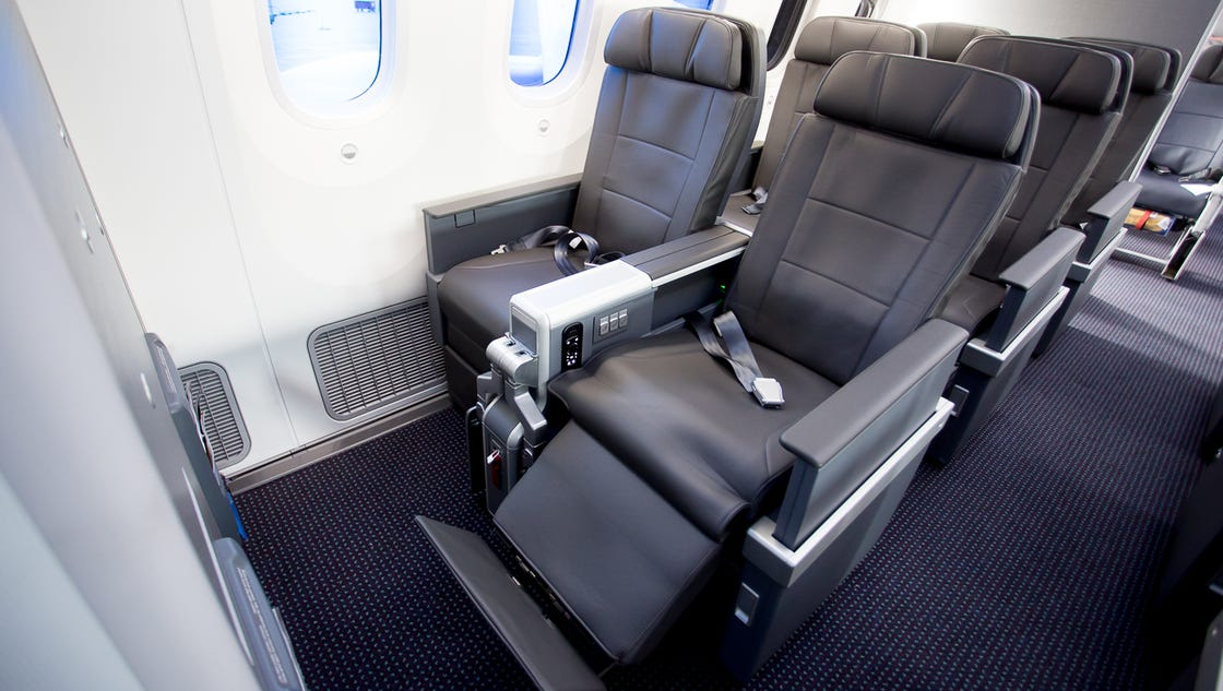 Now Flying On American Real International Style Premium