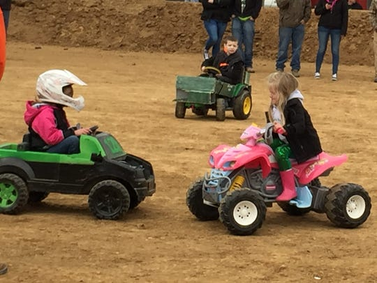 A total of 16 kids participated in the Power Wheel