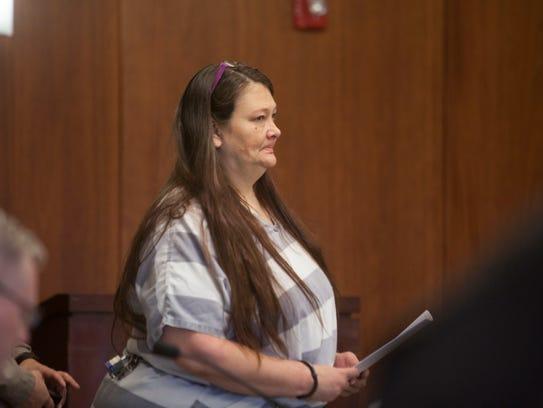 Tammy Freeman, one of three defendants in the David