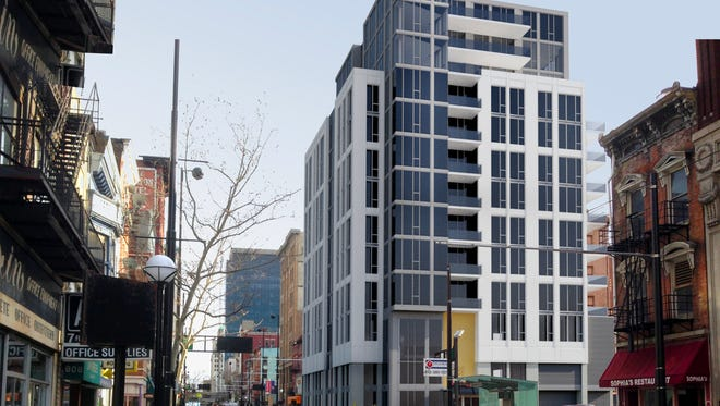 A 30-unit condo building with three levels of parking and street-level commercial space could be coming to the southwest corner of Eighth and Main streets.