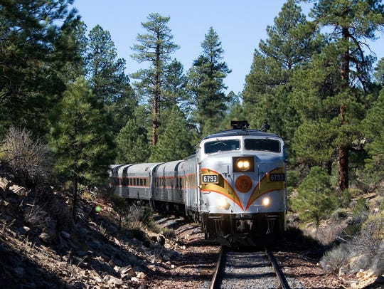 Ongoing: Grand Canyon Railway tour