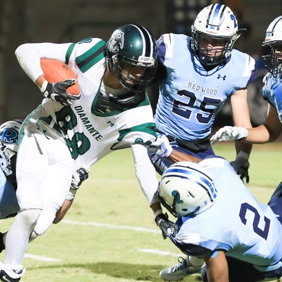 El Diamante charges past Redwood 17-7, improve to 4-0 in WYL